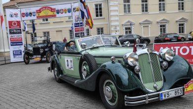 """Photo of Ralio """"Aplink Lietuvą"""" puošmena – istoriniai automobiliai"""