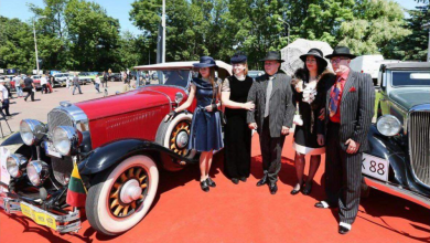 "Photo of Ukrainoje vykusiame ""Leopolis Grand Prix"" lietuviai iškovojo ""Concours d'Elegance"" taurę"