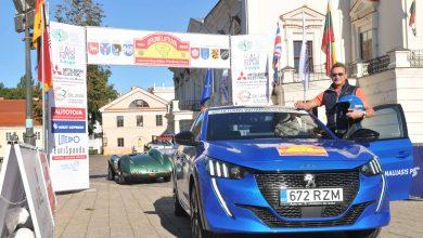 """Photo of 54 ekipažai pradėjo 1068 km maratoną """"Aplink Lietuvą"""""""